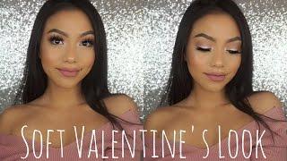 Easy Soft Valentine's Day Makeup | LOVEEMANDA