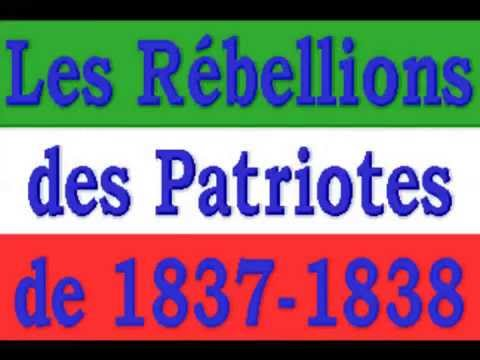 Anonymous : La Rébellion des Patriotes de 1837-1838 - (1/3)