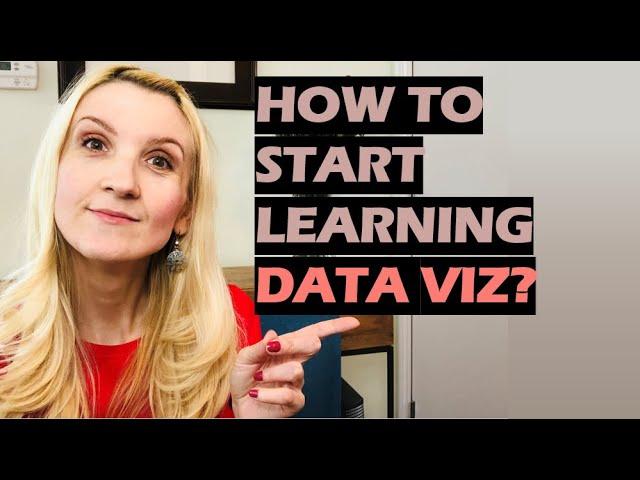 Data Viz in 60 Secs: How to Start Learning Data Viz