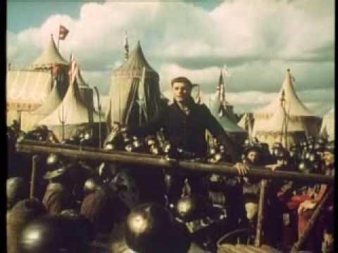 St. Crispin's Day Speech - Henry V (1944)