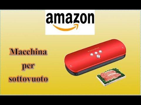 Amazon unboxing recensione macchina sottovuoto for Amazon macchina sottovuoto