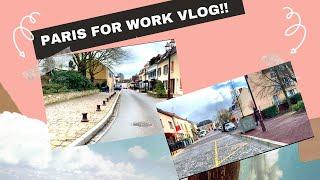 TRAVEL FOR WORK VLOG 2020!! (PARIS LAYOVER 2020)!!!