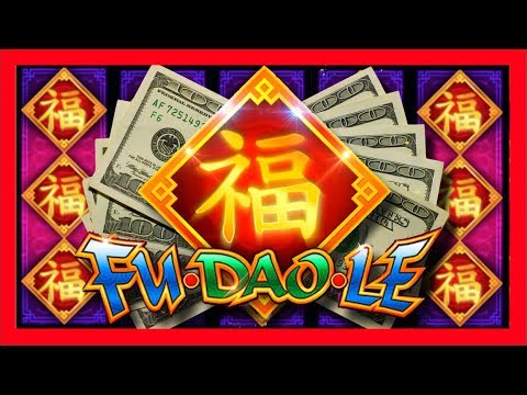 FIRST SPIN MASSIVE WIN! RECORD WIN For SDGuy on Fu Dao Le Slot Machine Bonus! - 동영상