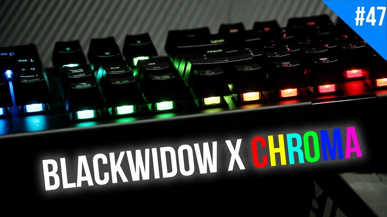 Đánh giá bàn phím cơ Razer Blackwidow X Chroma – Xứng danh siêu phẩm