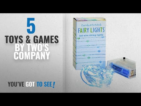 Top 10 Two's Company Toys & Games [2018]: 17 Long LED Wire Fairy String Lights by Cupcakes &