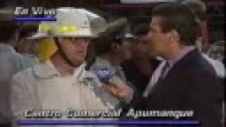 Incendio Apumanque 1992 - Teletrece p/2 de 2