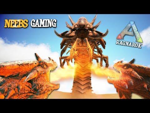 Ark: Survival Evolved - Deathworm BBQ!!!