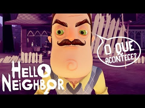 HELLO NEIGHBOR, DESCOBRI O MAPA SECRETO!!!O QUE ACONTECE?!   Hello Neighbor (NOVO)