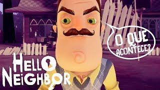HELLO NEIGHBOR, DESCOBRI O MAPA SECRETO!!!O QUE ACONTECE?! | Hello Neighbor (NOVO)