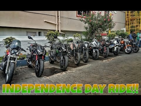 INDEPENDENCE DAY 2016 | Ride with Superbikes in Hyderabad (INDIA)