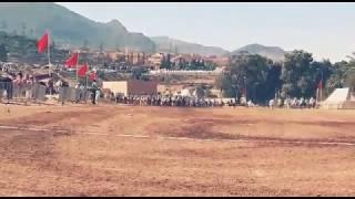فرسان تاونزة في موسم سيدي عبد الله بأفورار 2019 taounza, ait attab
