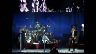 ZZ Top opens show @ Thunderbird Arena—Got Me Under Pressure—Live @ Vancouver-2010-06-05