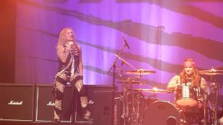 Steel Panther - Party like tomorrow + Let me Cum in @ 013 Tilburg NL 2014 march 12