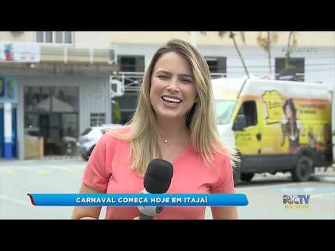 Carnaval começa hoje em Itajaí