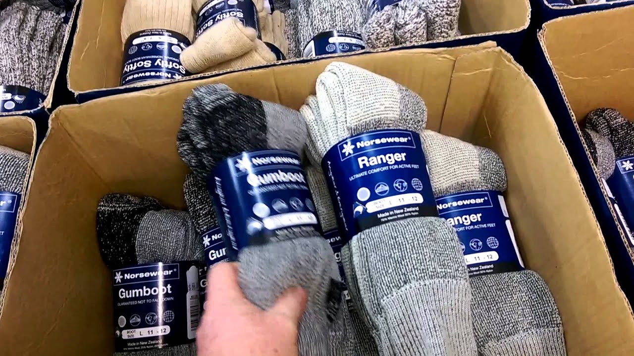 Norsewear Gumboot vs  Ranger Socks