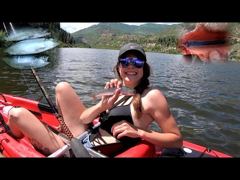 Catch, Clean, Cook WILD SALMON! Colorado Camping Part One! Sweetwater Lake