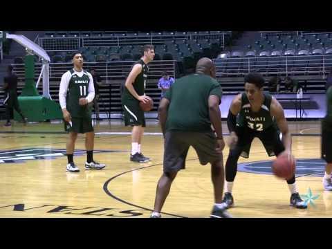 Hawaii basketball team opens practice