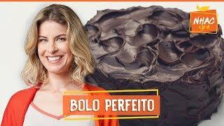 Bolo de chocolate coberto com ganache | Rita Lobo | Cozinha Prática