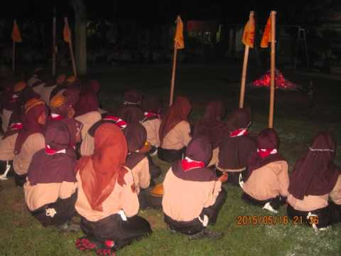 VIDEO 2 TKBK IN SQOUT SMP N 01 LUMBIR, NIGHT OFCAMPFIRE CEREMONY