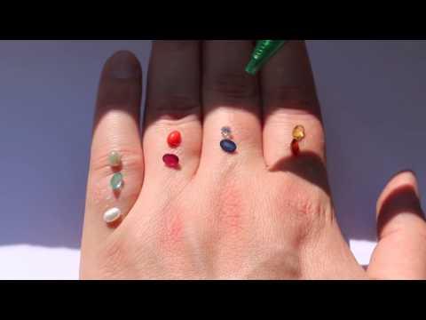 Как правильно носить кольца с натуральными камнями