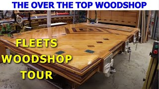Fleets Woodshop Tour - You've NEVER seen a woodworking shop like this