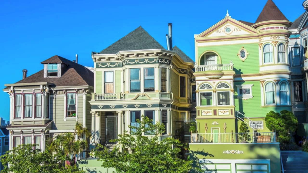 Old Victorian Style Homes And Houses