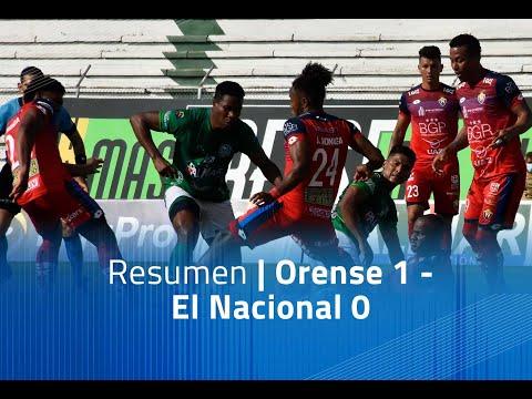 Orense El Nacional Goals And Highlights