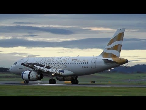 62 Planes spotting compilation | Edinburgh Airport September 2017 HD
