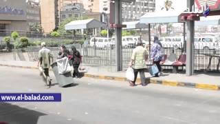 بالفيديو.. أتوبيسات النقل العام خالية من المواطنين