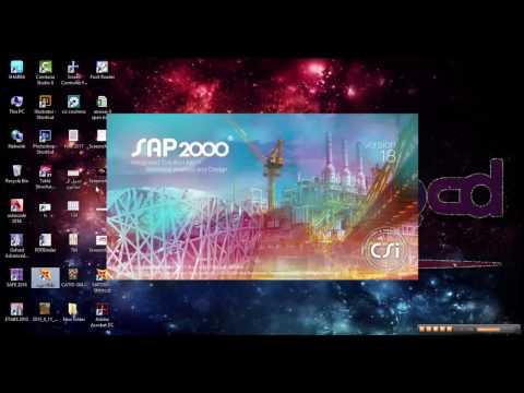 تحميل برنامج sap2000 v17