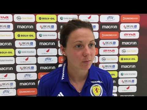 REACTION | Rachel Corsie | SWNT Qualify for World Cup | Scotland Women's National Team