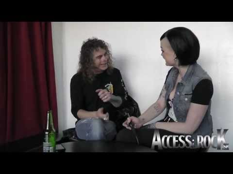 Access: Overkill chat with Bobby Blitz in Stockholm at Debaser