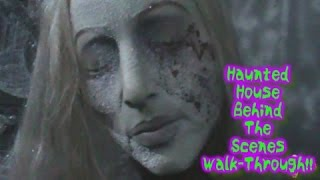 2014 Lights On Haunted House Walkthrough!!!