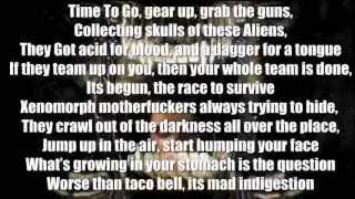 Aliens VS Predator RAP by TEAMHEADKICK Full Song + Lyrics)