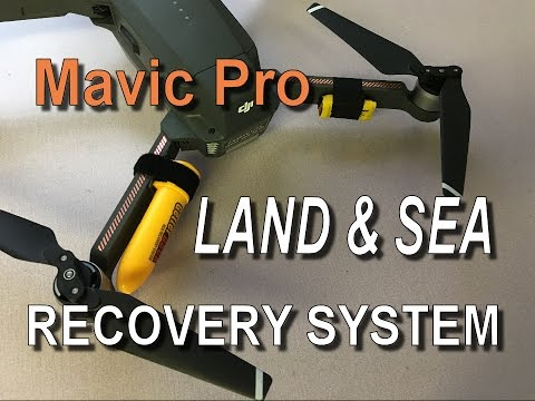 DJI Mavic Pro / Platinum - Land And Sea Recovery System