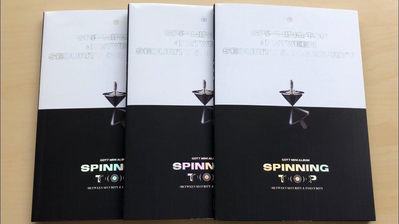 16 GOT7 9th Mini Album SPINNING TOP ECLIPSE Jinyoung Type-7 Photo Card K-POP