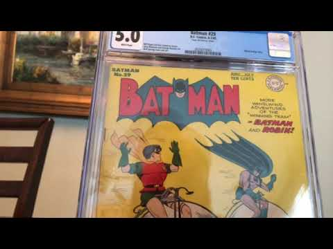 Golden Age Batman - CGC comic book