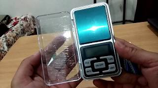 Pocket Scale Review and Unboxing (Small Digital Weighing Scale)