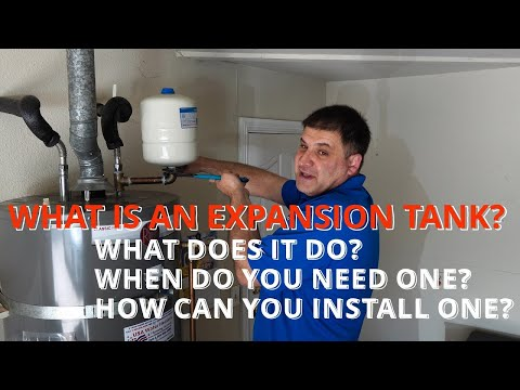✅ Expansion Tank Installation on a Water Heater - When do you need it - Expansion Tanks Explained