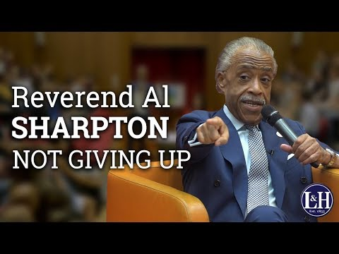 Reverend Al Sharpton: being stabbed, coalitions and doing things differently (2017) | UCD L&H