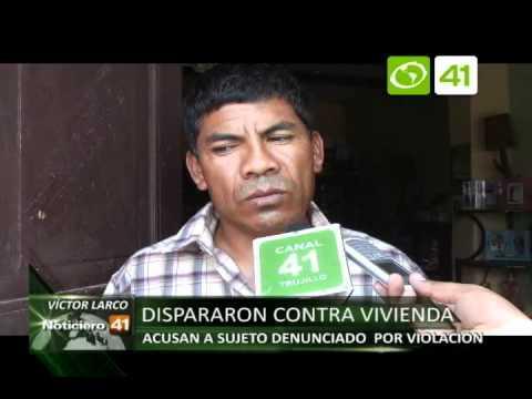 Dispararon contra vivienda en Víctor Larco - Trujillo