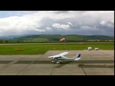 Flight Design CTLS 600kg start test