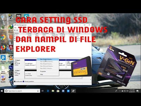 Installing a SSD in a Desktop PC.
