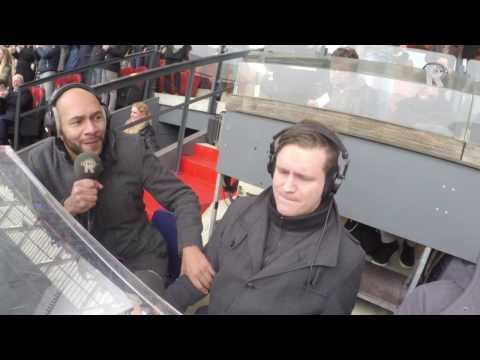 Commentatoren gaan uit hun dak tijdens Feyenoord - PSV