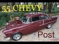 1955 Chevy 210 Post Hot Rod Classic HURST 4-speed