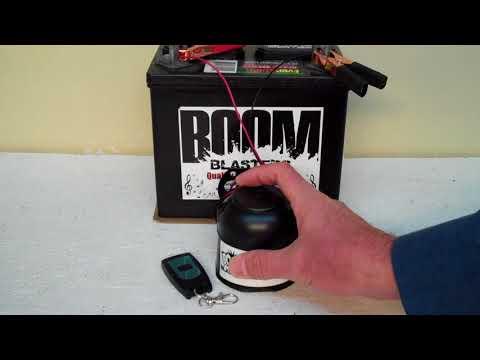 Sonic Screwdriver Sounds Musical Car Horn Wireless