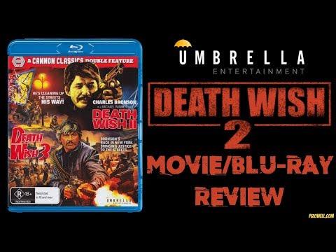 DEATH WISH 2 (1982) - Movie/Blu-ray Review (Umbrella Entertainment)
