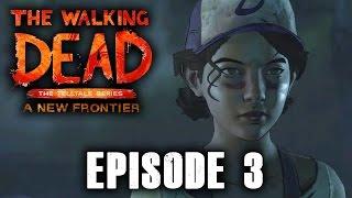THE WALKING DEAD Season 3 Episode 3 Walkthrough Part 1 Ending - ABOVE THE LAW FULL EPISODE