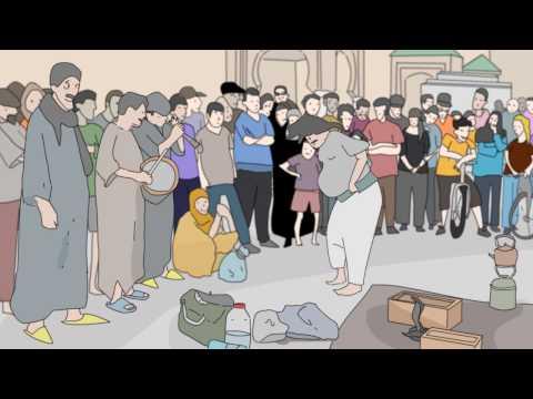 Meknes / meknes toon animation /Morocco مكناس