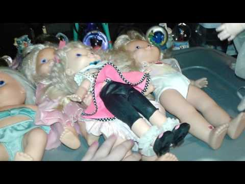 80's doll collection